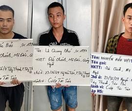 Công an bắt 2 nhóm cướp ở Bình Thạnh, Tân Phú