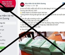 Coi chừng sập bẫy chiêu trò mua sổ BHXH để chiếm đoạt tiền