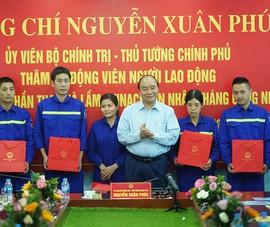 Thủ tướng thăm công nhân vùng mỏ Quảng Ninh