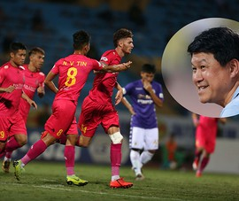 Bản sao của ông Park trong ban huấn luyện Sài Gòn