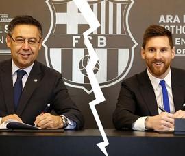 Messi và Barca - Miễn cưỡng không hạnh phúc