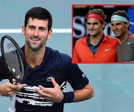 Djokovic nói không thù địch với Federer và Nadal
