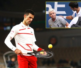 Djokovic đào sâu mâu thuẫn với trọng tài