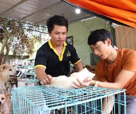 Biệt đội giải cứu chó mèo ở Tây Nguyên