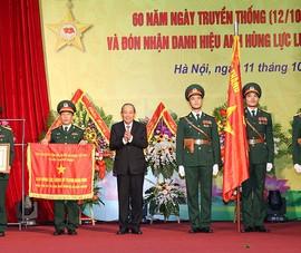 Viện Khoa học và công nghệ quân sự nhận danh hiệu Anh hùng
