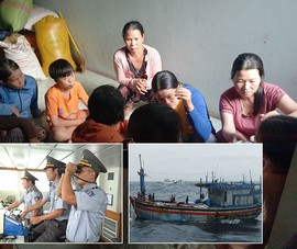 Mong phép màu đến với 26 ngư dân mất tích
