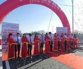 Video: Thông xe cầu Phước Lộc sau gần 10 năm thi công