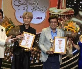 Video: Jack, Huỳnh Lập, Ngô Kiến Huy nhận giải Mai Vàng 2020