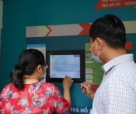 Video: Cận cảnh 'ATM' nhận trả hồ sơ đầu tiên tại TP.HCM