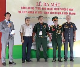 Video: Các cựu chiến binh gửi tặng kỷ vật chiến tranh