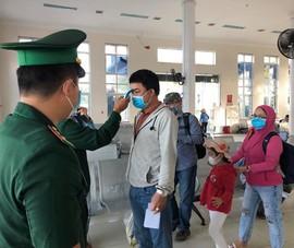 Lý Sơn tạm dừng đón khách du lịch nước ngoài