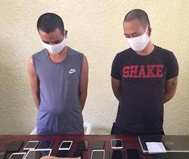 Trong 1 tháng, 2 thanh niên thực hiện 9 vụ trộm