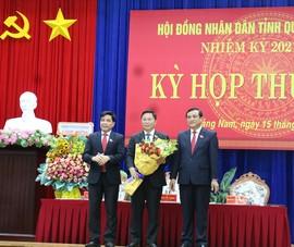 Ông Lê Trí Thanh tái đắc cử Chủ tịch UBND tỉnh Quảng Nam