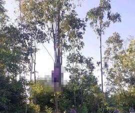 1 người chết trong tư thế treo cổ ở gần nghĩa trang
