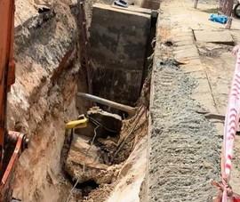 1 công nhân thi công cống thoát nước ở Quảng Nam bị khối bê tông đè tử vong