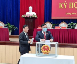 Quảng Nam có 4 Phó Chủ tịch UBND tỉnh