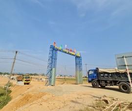 Quảng Nam kiểm tra, rà soát dự án khu phố chợ Chiên Đàn