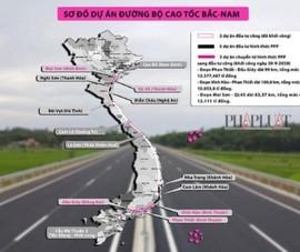 Đồng ý chuyển 2 dự án cao tốc Bắc – Nam sang đầu tư công