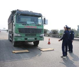 Nhiều xe quá tải ở Hải Phòng dùng biển số giả để né phạt nguội