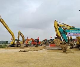 Chính phủ gỡ khó về nguồn vật liệu cho dự án cao tốc Bắc – Nam