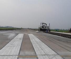 Yêu cầu xác định trách nhiệm việc hoàn thiện đường băng sân bay Nội Bài