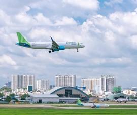 Bamboo Airways bay đúng giờ nhất trong 6 tháng đầu năm 2021