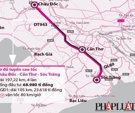Thành lập hội đồng thẩm định dự án cao tốc Châu Đốc – Cần Thơ – Sóc Trăng