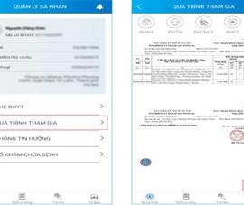 VssID bổ sung tính năng xem thông báo xác nhận đóng BHXH
