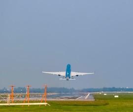 Tiếp tục đóng 1 đường băng ở sân bay Nội Bài để sửa chữa