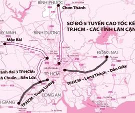 Cao tốc TP.HCM – Thủ Dầu Một – Chơn Thành có thời gian thu phí 32 năm