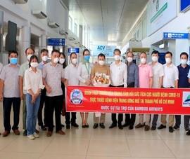 Bamboo Airways đưa y bác sĩ từ Huế vào miền Nam chống dịch