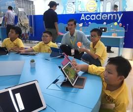 Không gian công nghệ S.hub Kids 6 tỉ đồng cho trẻ em TP.HCM