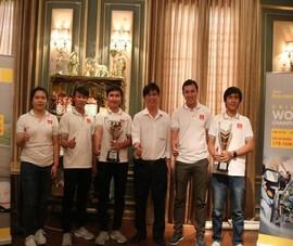 Đội Việt Nam đầu tiên vào chung kết Tay đua vô địch thế giới