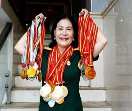Nữ cựu binh quân y sở hữu gần 100 huy chương thể thao