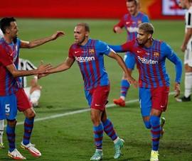 Barca thắng trận đầu tiên sau khi chia tay đội trưởng Messi