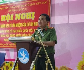 Cử tri nhất trí Đại tá Nguyễn Sỹ Quang ứng cử ĐBQH