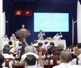 TP.HCM: 2 hội nghị lấy ý kiến cử tri nơi cư trú phải làm lại