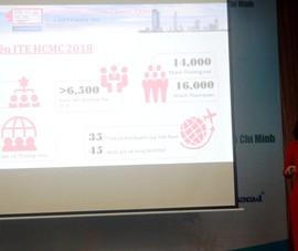 Hội chợ du lịch TP.HCM 2018: Thu hút khoảng 40 quốc gia