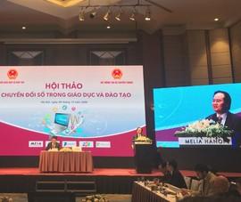 Bộ trưởng Nhạ: Dịch COVID-19 tạo động lực để chuyển đổi số