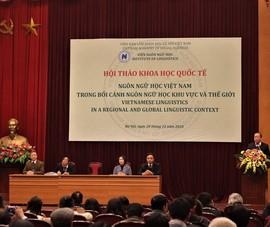 Ngôn ngữ học Việt Nam đang được 'vẽ lại bản đồ'