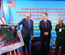 Loại bỏ 1.134 m3 bùn đất nhiễm dioxin ở Biên Hòa