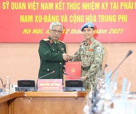 Thêm một sĩ quan Quân đội Nhân dân Việt Nam làm việc cho LHQ