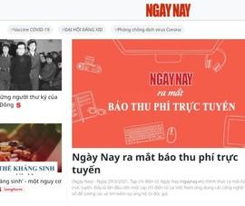 Tạp chí điện tử đầu tiên ở Việt Nam thu phí người đọc