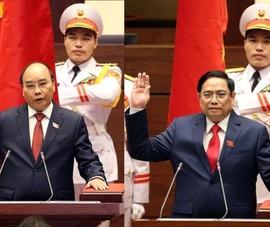 Lãnh đạo các nước chúc mừng tân Chủ tịch nước, tân Thủ tướng