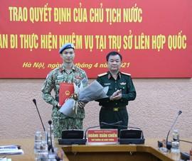 Thêm 1 sĩ quan quân đội Việt Nam làm việc tại Liên hợp quốc