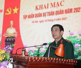 Bộ Quốc phòng tập huấn quân sự toàn quân tại Miếu Môn