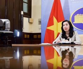 Việt Nam theo dõi sát các diễn biến trên Biển Đông