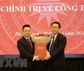 Ông Lê Quốc Minh giữ chức Tổng Biên tập Báo Nhân Dân