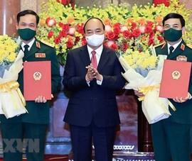 Bộ trưởng Quốc phòng Phan Văn Giang được thăng hàm Đại tướng