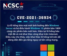 NCSC khuyến cáo người dùng Việt Nam về lỗ hổng bảo mật trên Windows